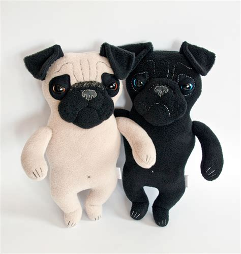 pug plushies plush pugs soft toys on design served