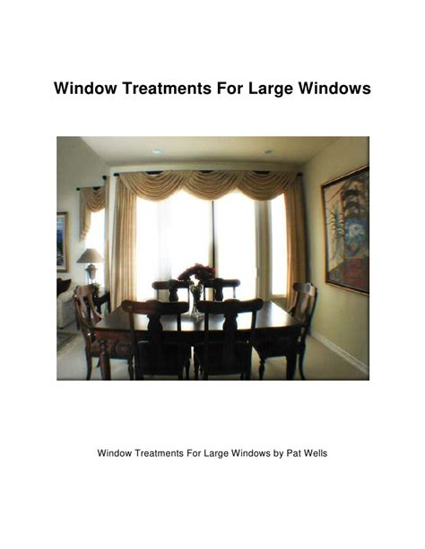 window coverings large windows window treatments for large windows