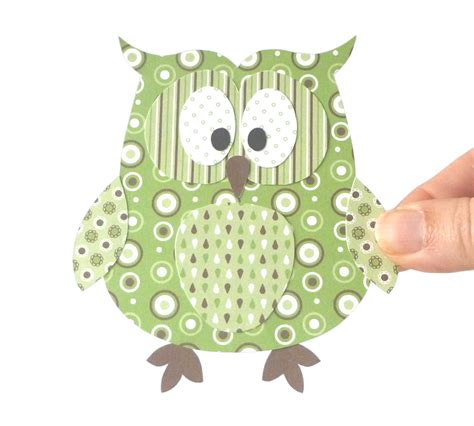 Paper Craft Patterns - owl woodworking patterns