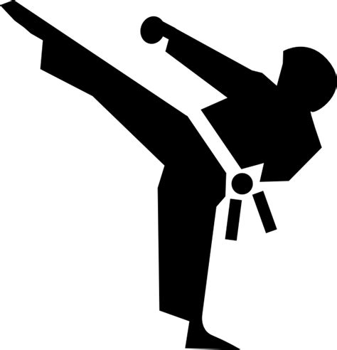 karate clipart karate icon clip at clker vector clip