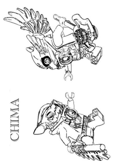 kids n fun com 15 coloring pages of lego chima