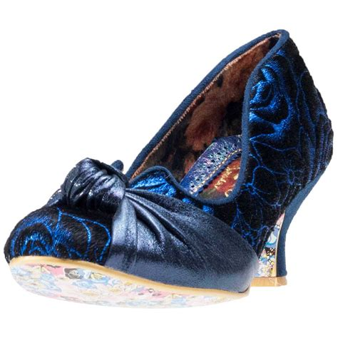 Blue Shoes by Irregular Choice Dazzle Womens Shoes Blue