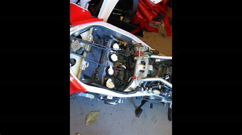 1987 Honda Hurricane 600 Manual Cam Chain Tensioner