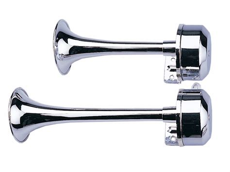 boat horn from marine 12v electric 9 11 trumpets horns pair set