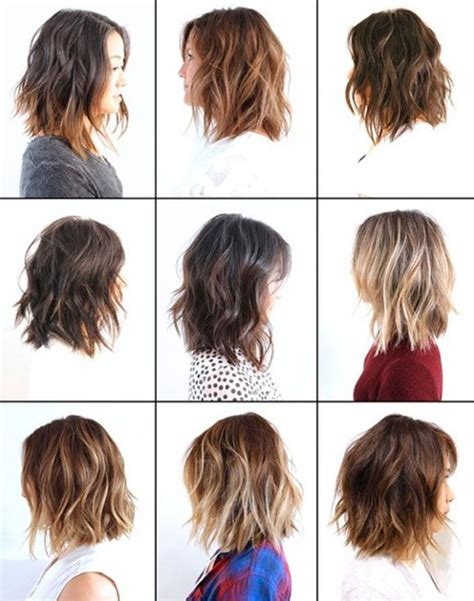 textured layered wavy hair by anh co tran hair with a na medida wavy bobs bobs and middle