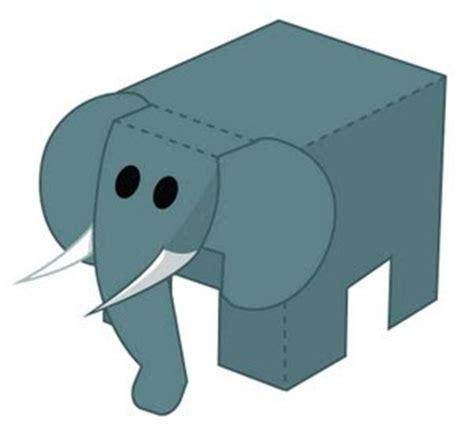 Elephant Papercraft - pooon elephant papercraft papercraft paradise
