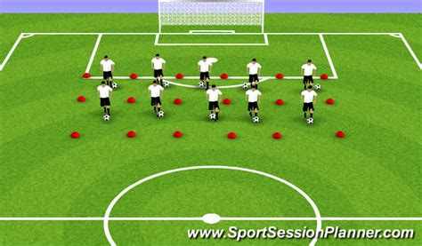 football basic skill tutorial football soccer cologne academy training session