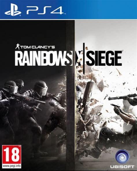 Ps4 Tom Clancys Rainbow Six Siege Reg 1 Tom Clancys Rainbow Six Siege Ps4