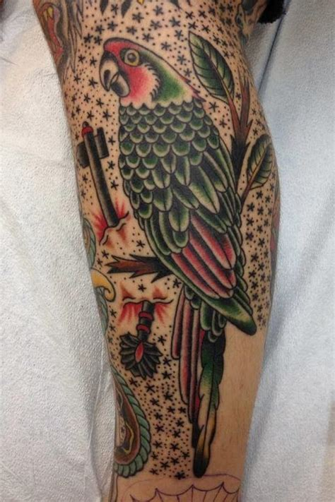 traditional filler tattoos traditional bird w dots tattooed by christian