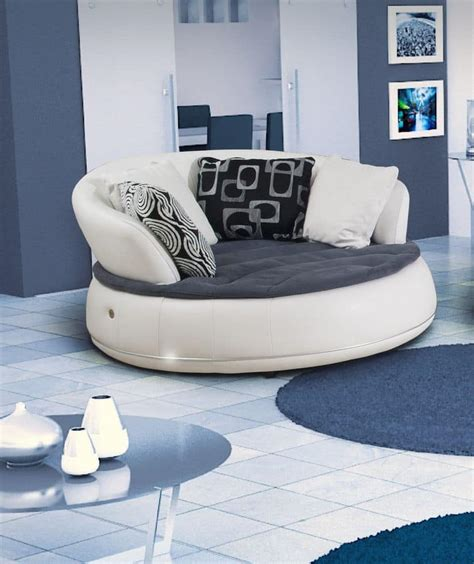 round shaped couches sofa with a round shape various sizes idfdesign