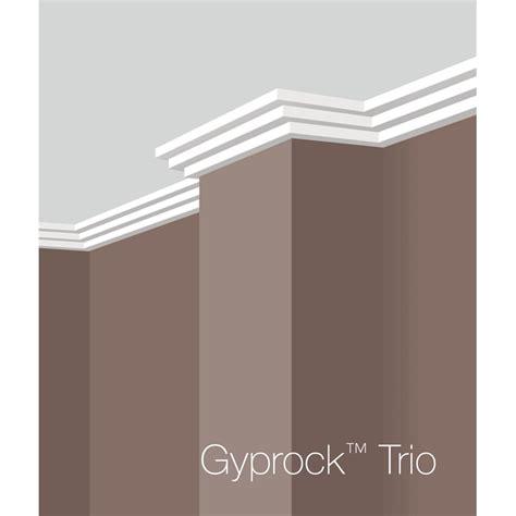 jazz cornice gyprock csr 75 x 4800mm plaster cornice trio bunnings