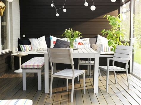 ikea outdoor dining ikea falster table set exteriors gardens pinterest