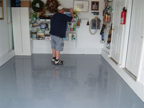 Painted Garage Floor Houses Flooring Picture Ideas   Blogule
