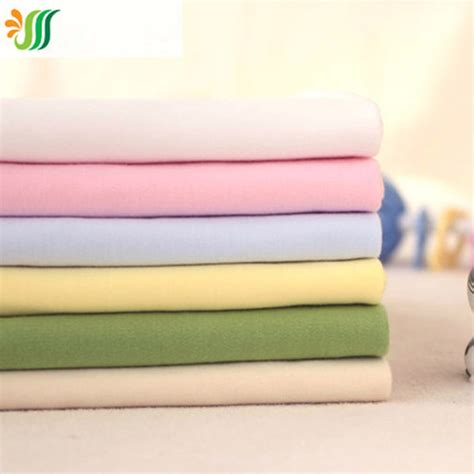 160 50cm1pc good quality cotton knitted fabric 100 160x50cm 6pcs lot good 100 organic cotton knit fabric