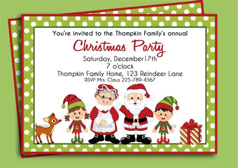 how to prepare invitation christmas card hd birthday invitations home ideas