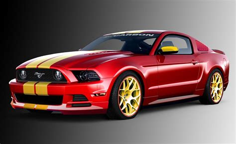 ford mustang image car and driver