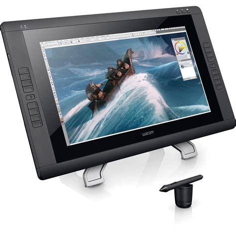 Tablet Grafik wacom dtk2200 cintiq 22hd pen display dtk2200 b h photo