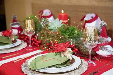 como decorar uma mesa para ceia de natal simples garanta uma decora 231 227 o impec 225 vel para a mesa na ceia de