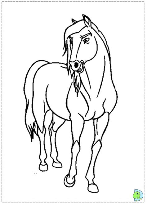 spirit free coloring pages