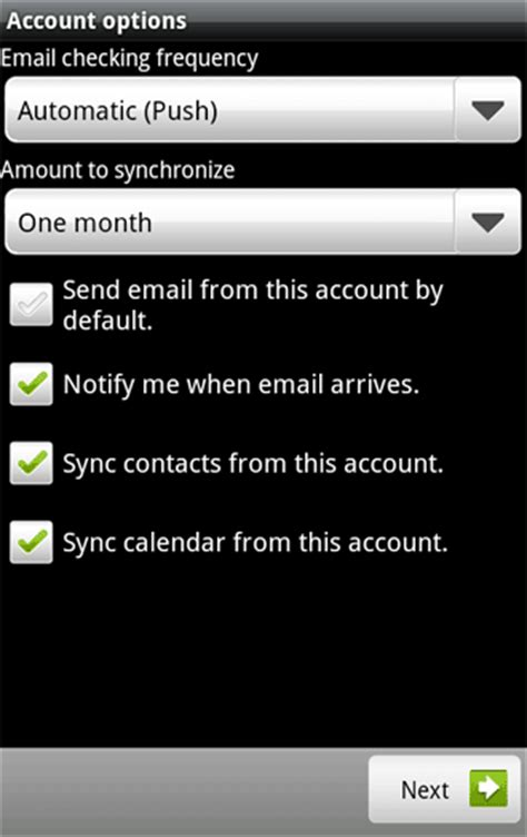 hotmail not mobile version how to setup hotmail push email via exchange activesync on