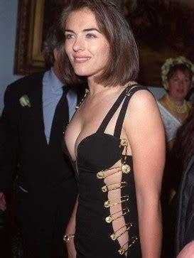 Buy Elizabeth Hurleys Safety Pin Versace Dress by Safety Pin Fashion Up My Ali