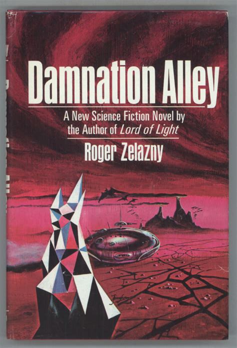 damnation books damnation alley roger zelazny edition