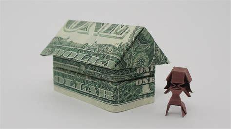 2 Dollar Bill Origami - origami 2 house jo nakashima