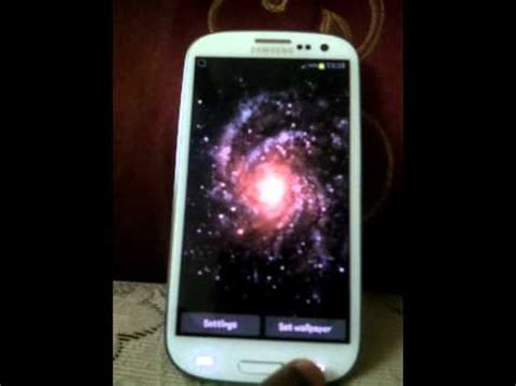 live themes samsung galaxy s3 samsung galaxy s3 live wallpapers youtube
