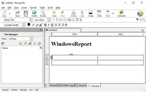 kompozer templates delighted kompozer website templates images resume ideas