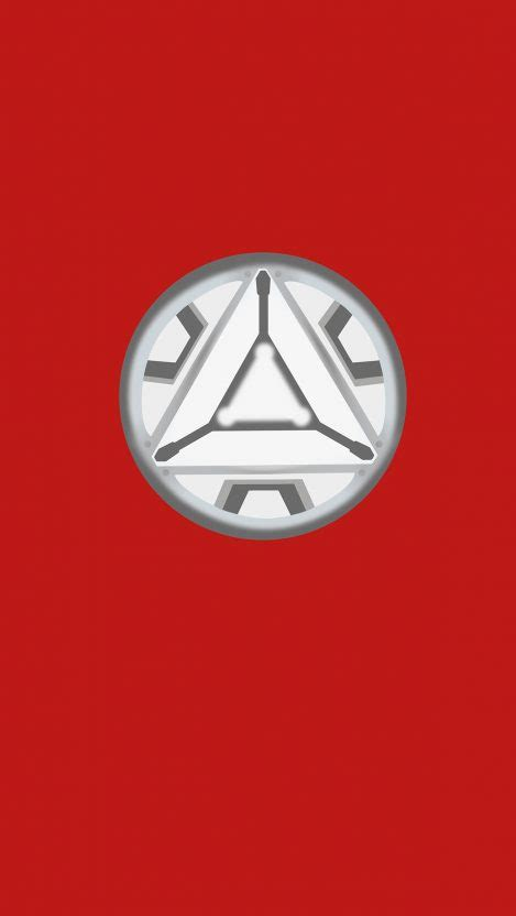 iron man arc reactor simple iphone wallpaper iphone