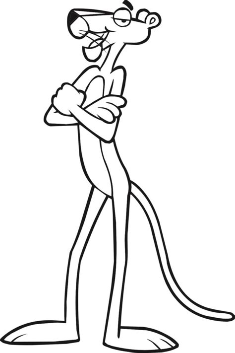 Pink Panther Coloring Pages 9 Coloring Pink Panther Coloring Pages