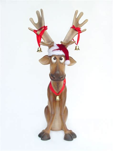 pop art decoration religion and holidays reindeer