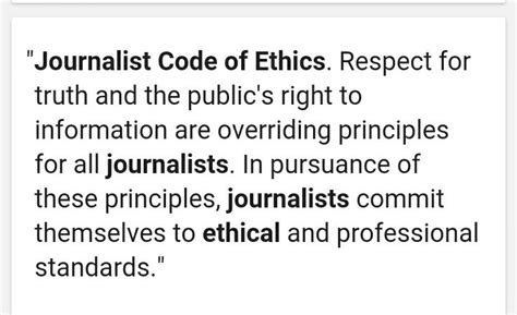 Journalism Code Of Ethics by Freedom Of The Press And Right To Information Lifestylecent