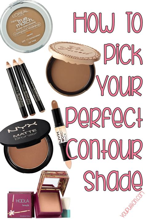 how to choose the right contour shade yourbeautycraze com how to choose the right colors for contouring make up
