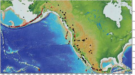 map of volcanoes in the united states 1 introduction volcanic eruptions and their repose