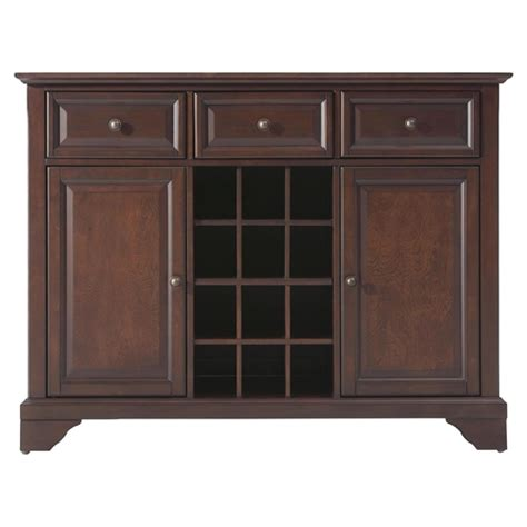lafayette buffet server sideboard vintage mahogany
