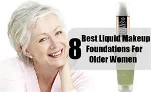 8 best liquid makeup foundations for older women