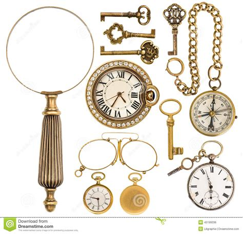 Vintage Accessories by Collection Of Golden Vintage Accessories Jewelry And