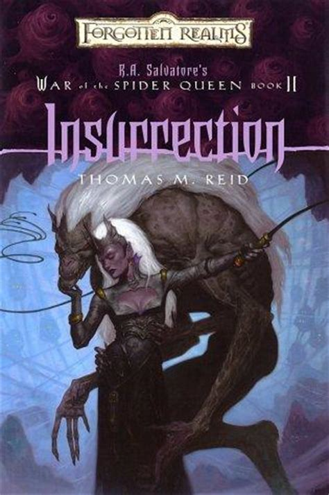 a i insurrection the general s war books insurrection r a salvatore s war of the spider