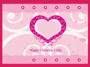 valentines day card templates card template