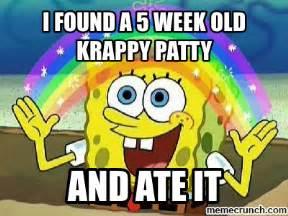 Patty Meme - krabby patty