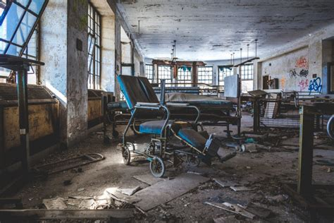 Detox Places In Ny by Inside The Abandoned Children S Hospital And Tunnels At