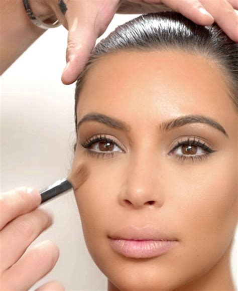 kim kardashian west beauty tips tutorial natural daytime look kim kardashian west