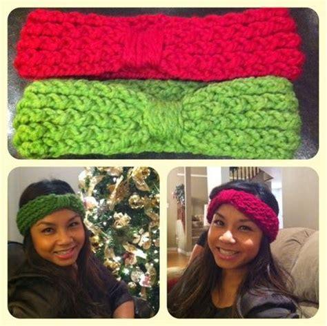 loom knit a headband jenn s yarn addiction loom knit headband free pattern