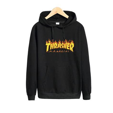 Hoodie Jumper Jaket Skate Thrasher Black best 25 hoodie thrasher ideas on skate