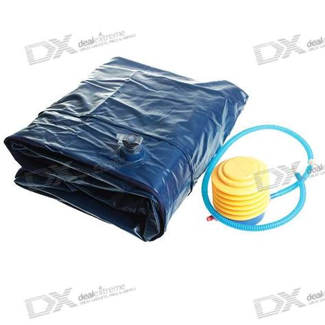 pvc air bed mattress airbed w inflator free shipping dealextreme