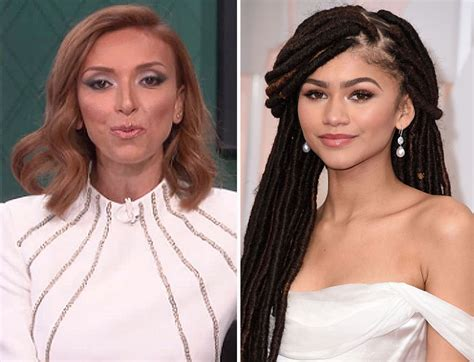 why is guliana rancic wearing a wig does giuliana rancic wear a wig giuliana racist