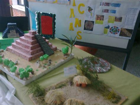 imagenes de maquetas mayas liceo de piri 225 polis jos 233 luis invernizzi civilizaciones