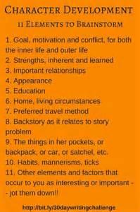 Character Development Essays by Character Development Essays