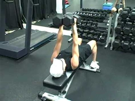 average dumbbell bench press dumbbell squeeze press exercise com